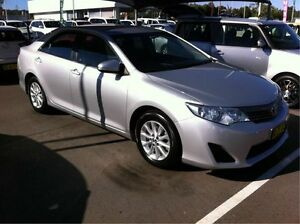 2012 Toyota Camry ASV50R Altise Silver 6 Speed Sports Automatic Sedan Cardiff Lake Macquarie Area Preview