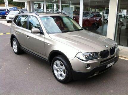 2008 BMW X3 E83 MY07 Steptronic Gold 6 Speed Sports Automatic Wagon