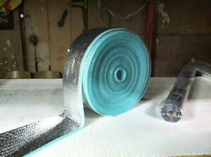 Pex insulation wrap