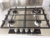 AEG GAS STAINLESS STEEL HOB