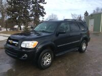 2005 Toyota Sequoia, 4WD, Leather, Roof, DVD, 173, $14,500