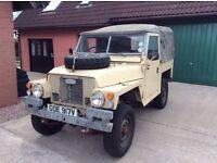 Land Rover Series III lightweight