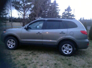 2009 Hyundai Santa Fe (manual transmission)