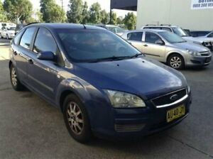2006 Ford Focus LS CL Blue 4 Speed Automatic Hatchback
