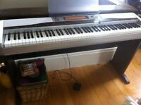 SOLD--Casio Privia 555r-Full Keyboard-Weighted Keys-Great Sound!
