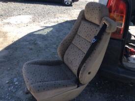 Rear Seats for a Van/MPV
