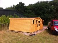 garden sheds and summer houses made to measure any size or spec