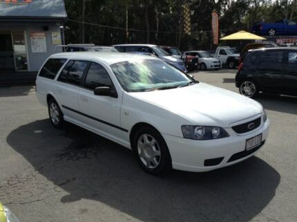 2006 Ford Falcon BF MkII BF XT White 4 Speed Automatic Wagon Morayfield Caboolture Area Preview