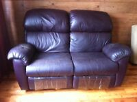 Fauteuil inclinable 2 places