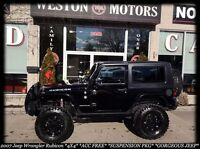 2007 Jeep Wrangler RUBICON*4X4*FULLY LOADED*100% APPROVED!