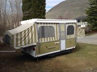 Great Vintage Tent Trailer!