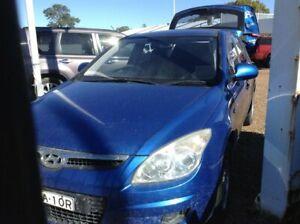 2008 Hyundai i30 FD SX Blue 4 Speed Automatic Hatchback Raymond Terrace Port Stephens Area Preview