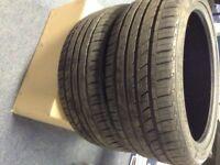 used run flat tyres 225/40 zrf18