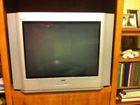 """** FREE TV 27"""" with Remote ** flat screen"""