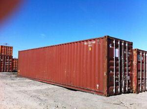 Nous offrons vente de conteneurs.  Format : 20 & 40 pieds. Saint-Hyacinthe Québec image 3