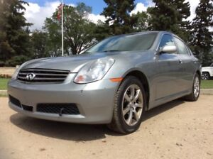 2005 Infiniti G35x, PREMIUM, AUTO, AWD, LOADED, LEATHER, ROOF!