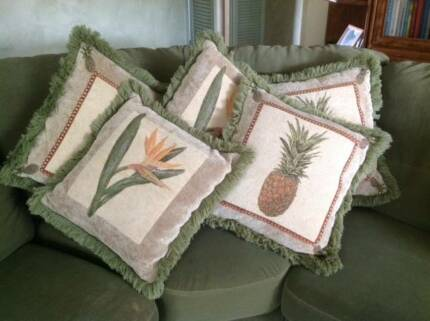 Woven, as new, Cushions covers, Logan Central Logan Area Preview