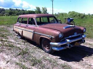 "1954 Mercury Monterey Wagon ""Woody"".  V8 automatic"