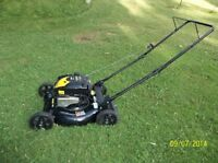 NEW LAWNMOWER ,,,,,6.3/4 HP... BRIGGS & STRATION.. LAWN MOWER ,N