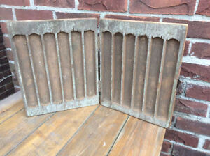 Antique wood hand carved tool box or a CABINET OR????