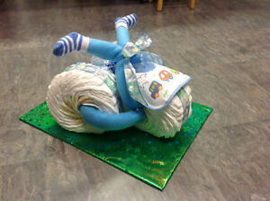 Baby Gift -  Diaper Tricycle