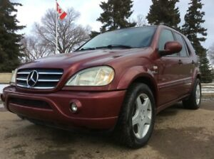 2001 Merceds-Benz ML55, AMG, AUTO, AWD, LEATHER, ROOF!