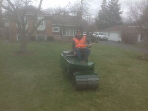 Book your LAWN Rolling appointment now!!!!
