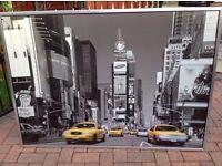 NEW YORK FRAMED PICTURE
