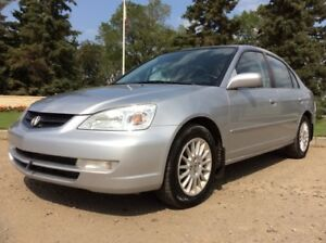 2002 Acura EL, TOURING-PKG, AUTO, FULLY LOADED, ONLY 139K