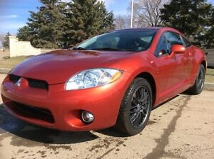 2008 Mitsubishi Eclipse, GTP-PKG, 6/SPD, LEATHER, ROOF, $7,500