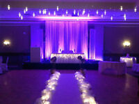 Uplighting For Your Wedding Reception - Only $350!!!