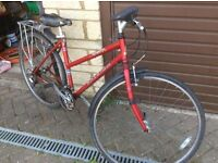 1990s Ladies Raleigh bicycle Twist grip gears