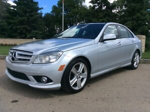 2008 Mercedes Benz C300, AUTO, AWD, LEATHER, ROOF, $10,500