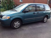 2001 Mazda MPV DX Familiale