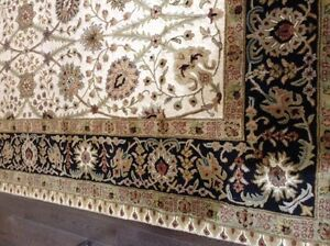 9x12 Hand Tufted Jaipur Wool Carpet