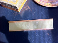Brass/ cooper name tag plate