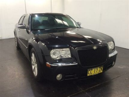 2006 Chrysler 300C LE MY06 5.7 Hemi V8 Black 5 Speed Automatic Sedan Cardiff Lake Macquarie Area Preview
