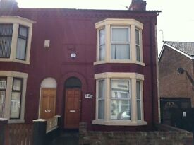 2 bedroom house Benedict Street, Bootle L20 2EW 2 minutes walk from Kirkdale Train Station