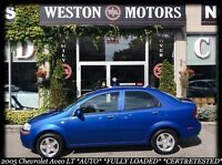 2005 Chevrolet Aveo LT* AUTO* NICELY EQUIPPED* CERT&ETESTED!!