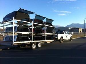 Used Truck Canopies - 450 in stock, the Biggest in B.C