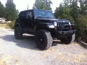 2012 Custom Jeep Wrangler Unlimited