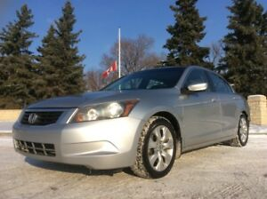 2008 Honda Accord, EXL-PKG, AUTO, LEATHER, ROOF, $6,700