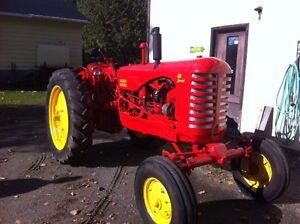 Massey-Harris tractor // 44 special // restored
