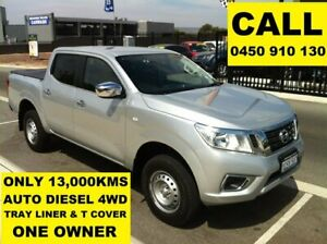 2017 Nissan Navara D23 Series II RX (4x4) Brilliant Silver 7 Speed Automatic Double Cab Utility Ellenbrook Swan Area Preview