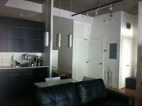 Bright studio/1 bdrm available Sept. 1 in St. Henri