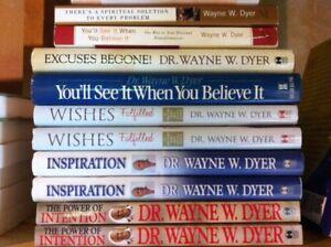 """Dr. Wayne W. Dyer"" -  books for sale"