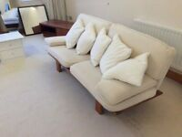 Retro 1960s designer modernist sofa