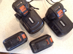 ECHO 36V LITHIUM iON Batteries & Chargers