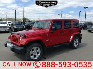 2014 Jeep Wrangler Unlimited 4WD SAHARA UNLIMITED Accident Free,
