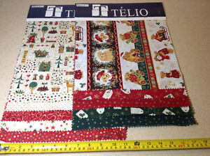 Telio fabric samples for crafts - 20 sampler of mostly Christmas Cambridge Kitchener Area image 5